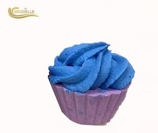 Cupcake Shaped Custom Bath Bombs , Moisturizing Bath Bomb Any Size Available