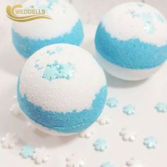 Customize Effervescent Bath Bombs / Round Homemade Bath Fizzies